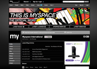 Myspace International Hub