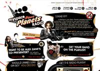 MySpace Mars Planets Radio
