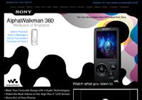 Sony AlphaWalkman 360